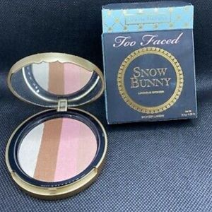 NIB Too Faced Snow Bunny Bronzing Powder /Bronzer